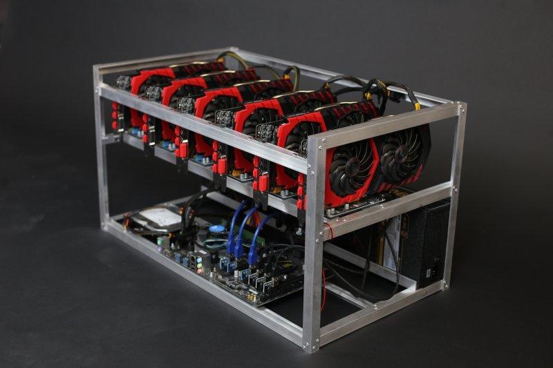 GPU майнинг фермы