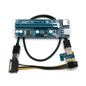 Райзер PCI-E 1X-16X