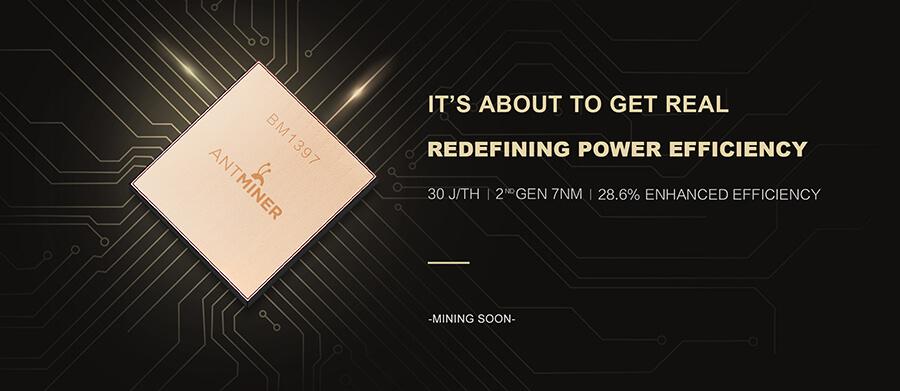 Bitmain анонсировали новый 7нм SHA256 ASIC чип BM1397
