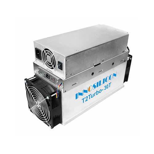 Innosilicon T2 Turbo T2T-30T BTC Miner